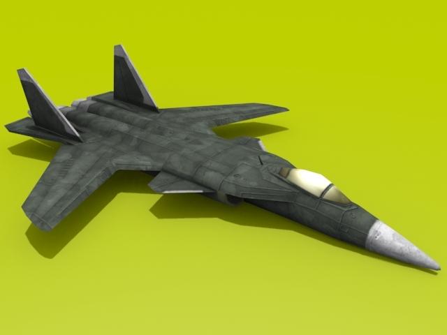 3DOcean Sukhoi Su-47 Berkut 2294433