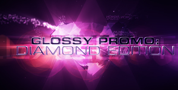 After Effects Project - VideoHive Glossy Promo Diamonds 2294470