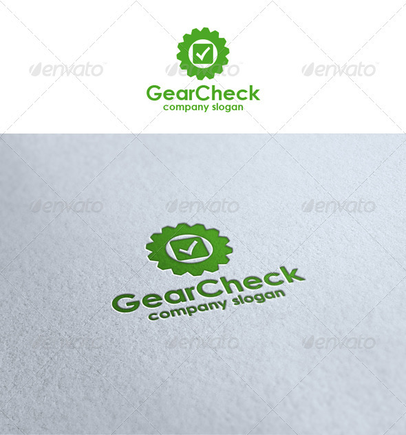 Gear Check - Symbols Logo Templates