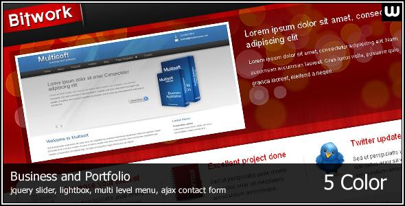 Bitwork - Portfolio and Business Website Template - Portfolio Creative