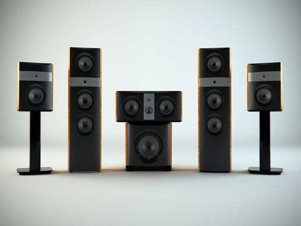 Hi Fi Stereo - 3DOcean Item for Sale