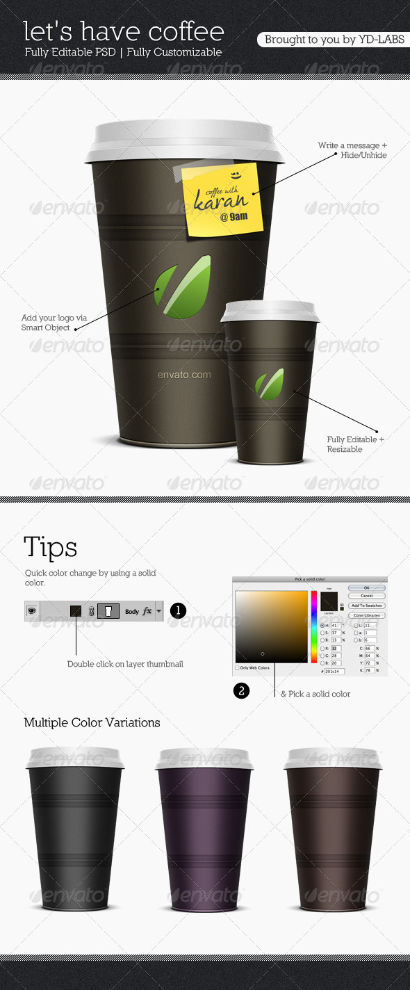 Coffee Cup V1 - Food and Drink Packaging