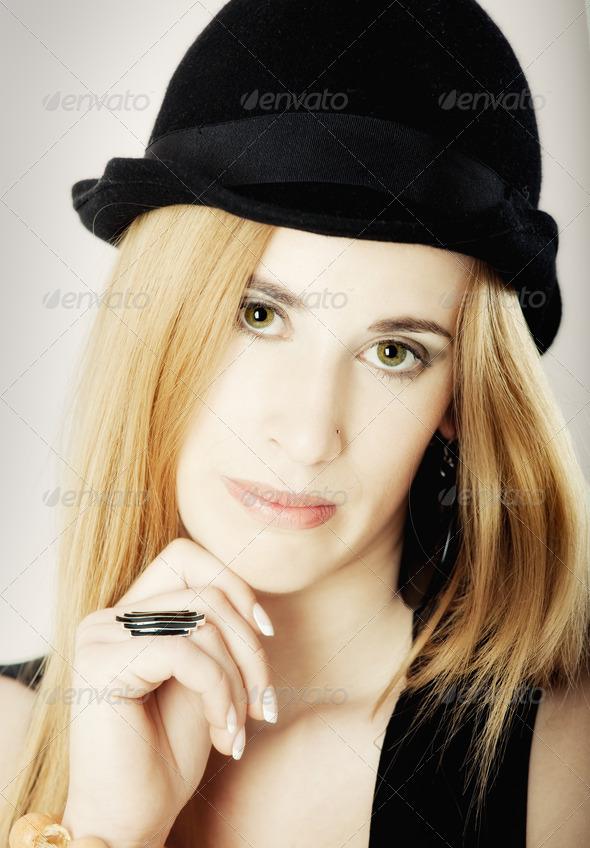 Fashion Portrait - Stock Photo - Images