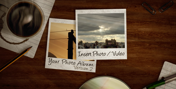 After Effects Project - VideoHive Photo Album V.2 44575
