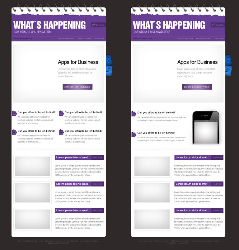 Business E-mail Theme