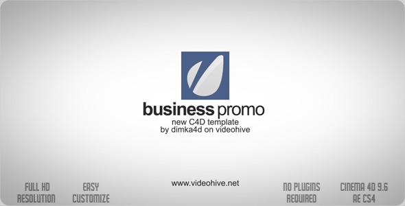 Business Promo C4D