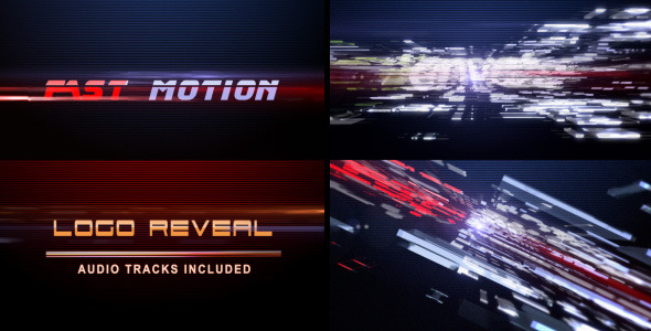 VideoHive Fast Motion Logo Reveal 2297960