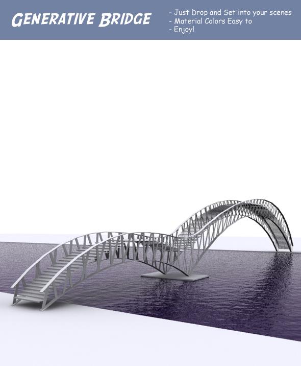 3DOcean Generative Bridge 85170