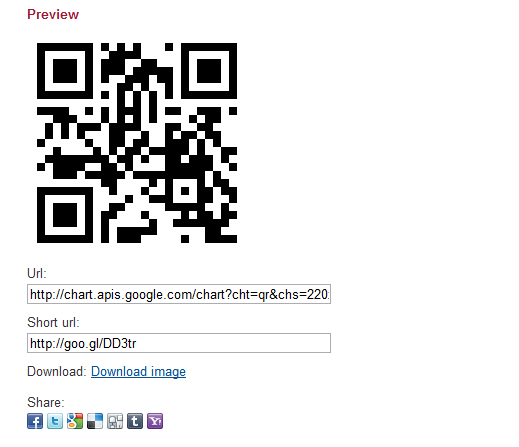 QR Codes generator for Joomla