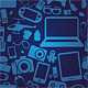 Gadget Icons and Patterns - GraphicRiver Item for Sale