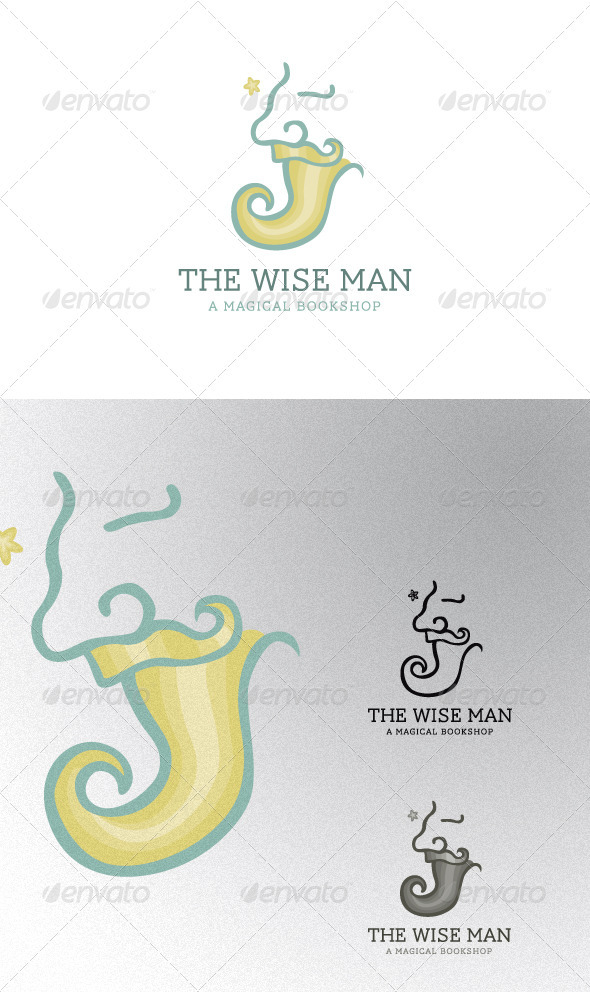 The Wise Man - Humans Logo Templates