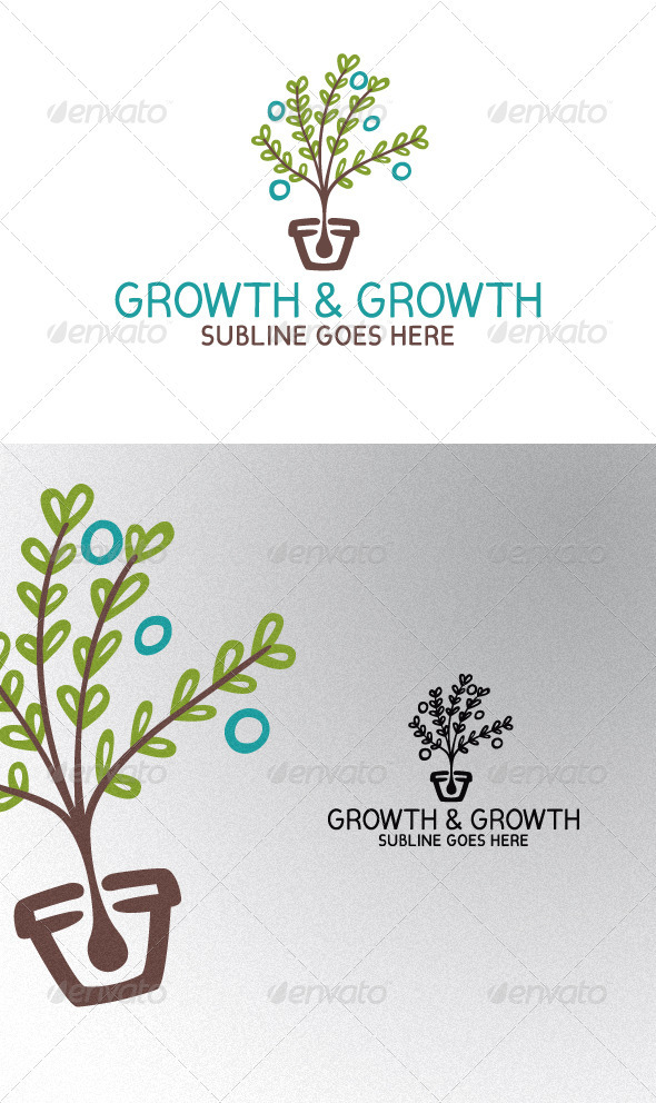 GraphicRiver Plant in a Vase 2260682
