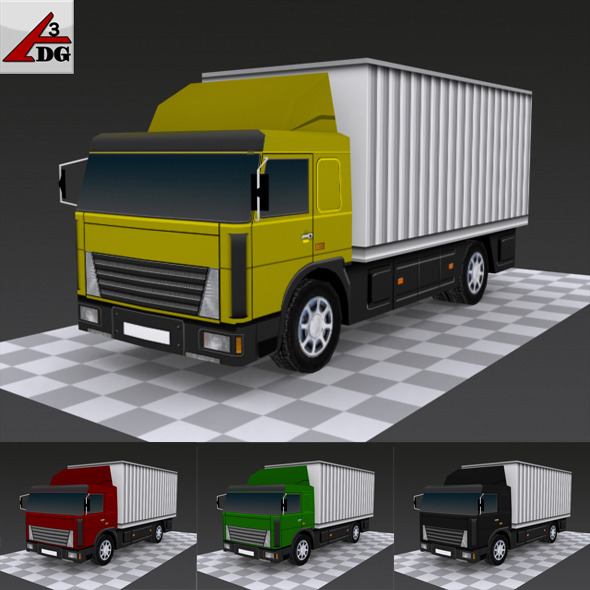 Mujik MiniGruz  ( LowPoly ) - 3DOcean Item for Sale