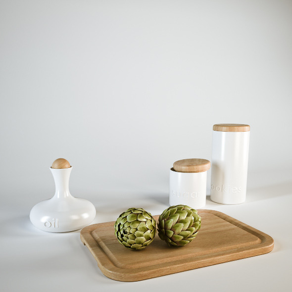 Kitchen Accessories - 3DOcean Item for Sale