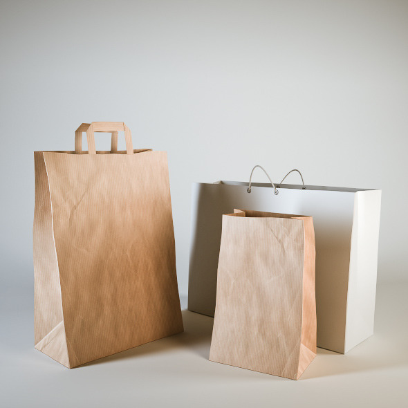 Shopping Bags - 3DOcean Item for Sale