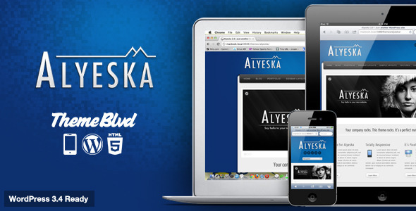 Alyeska Responsive WordPress Theme - ThemeForest Item for Sale