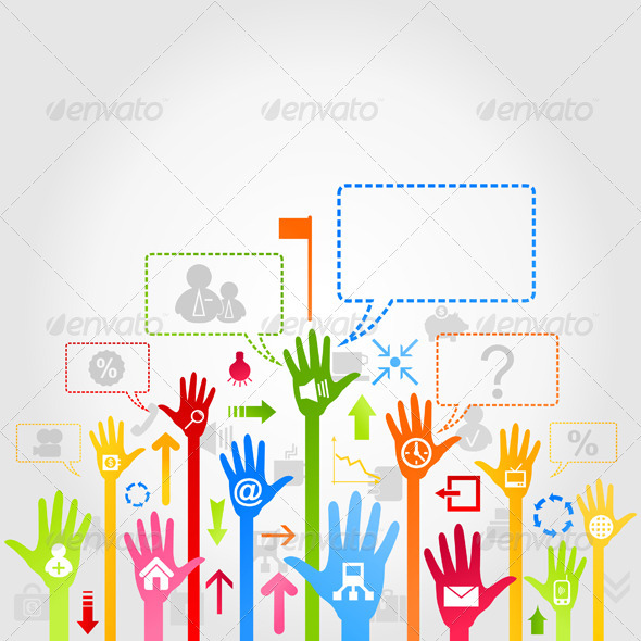 Hand Business - Communications Technology