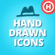 200 Hand Drawn Icons - GraphicRiver Item for Sale