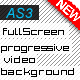 Full Screen video background template as3 version - ActiveDen Item for Sale