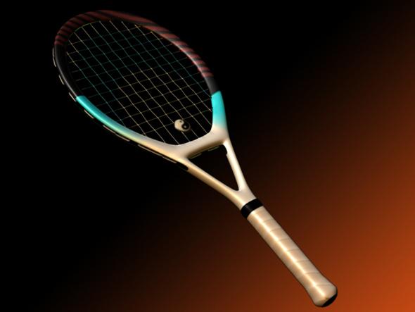3DOcean Racquet 85646
