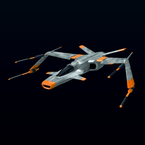 3DOcean Spaceship fighter 2303215