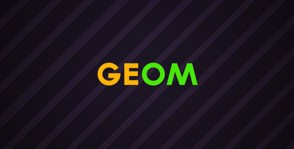 After Effects Project - VideoHive Geom 2303517