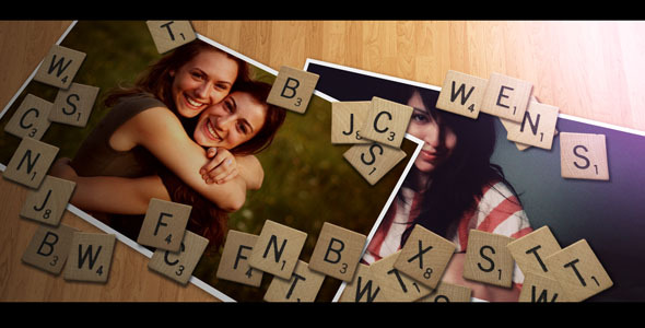 After Effects Project - VideoHive My Scrabble 2303881