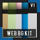 Web Background Set - GraphicRiver Item for Sale