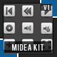 Media Player Elements Kit - GraphicRiver Item for Sale