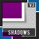 Realistic Shadows pack - 3 - Sweet Shadows - GraphicRiver Item for Sale