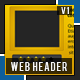 Web Header-1 - GraphicRiver Item for Sale