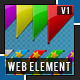 Web box corners pack - GraphicRiver Item for Sale