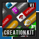 Button creation kit - GraphicRiver Item for Sale