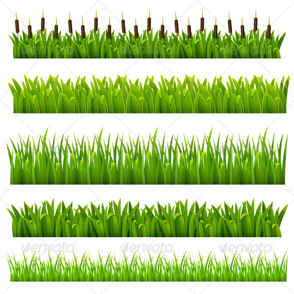 GraphicRiver Set from grass 2291358
