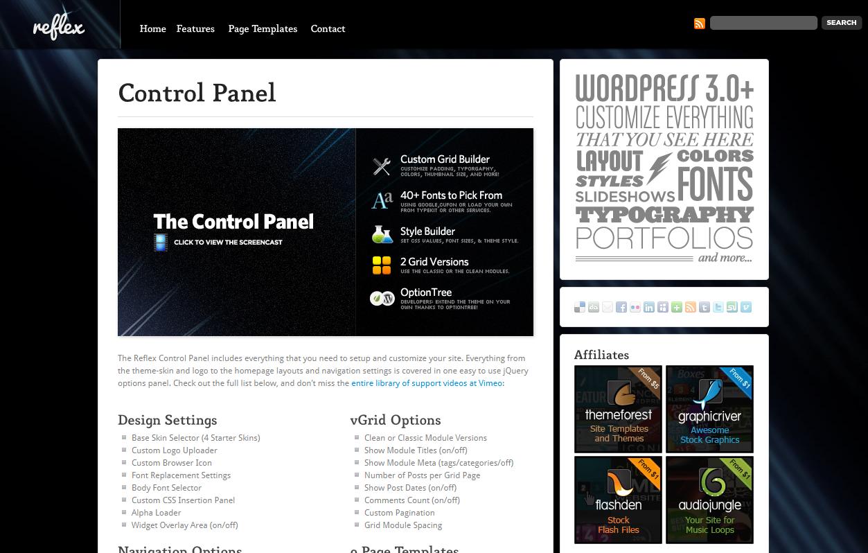 Reflex - Dynamic Grid Portfolio + Blog Theme