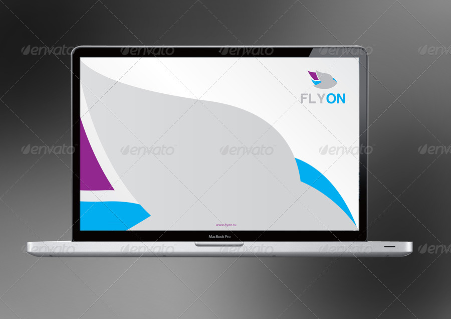 Flyon Corporate Identity Branding Package