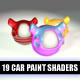 19 Paint / Coating Shaders Pack For CINEMA4D (C4D) - 3DOcean Item for Sale