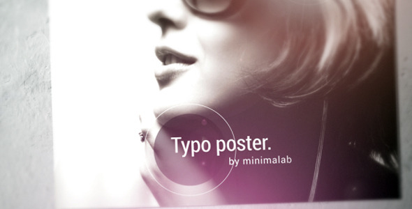 VideoHive Typo Poster 2308693