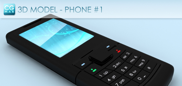 Phone #1 flat - 3DOcean Item for Sale