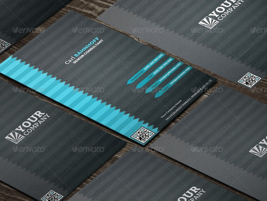 Quick Response Professional Business Card
