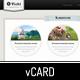 Vicki - Vintage Elegant HTML/CSS vCard - ThemeForest Item for Sale
