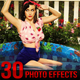 30 Exclusive Photo Effects Action Pack VOL-4 - GraphicRiver Item for Sale