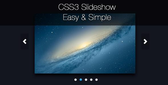 CodeCanyon CSS3 Image Slider 2310936
