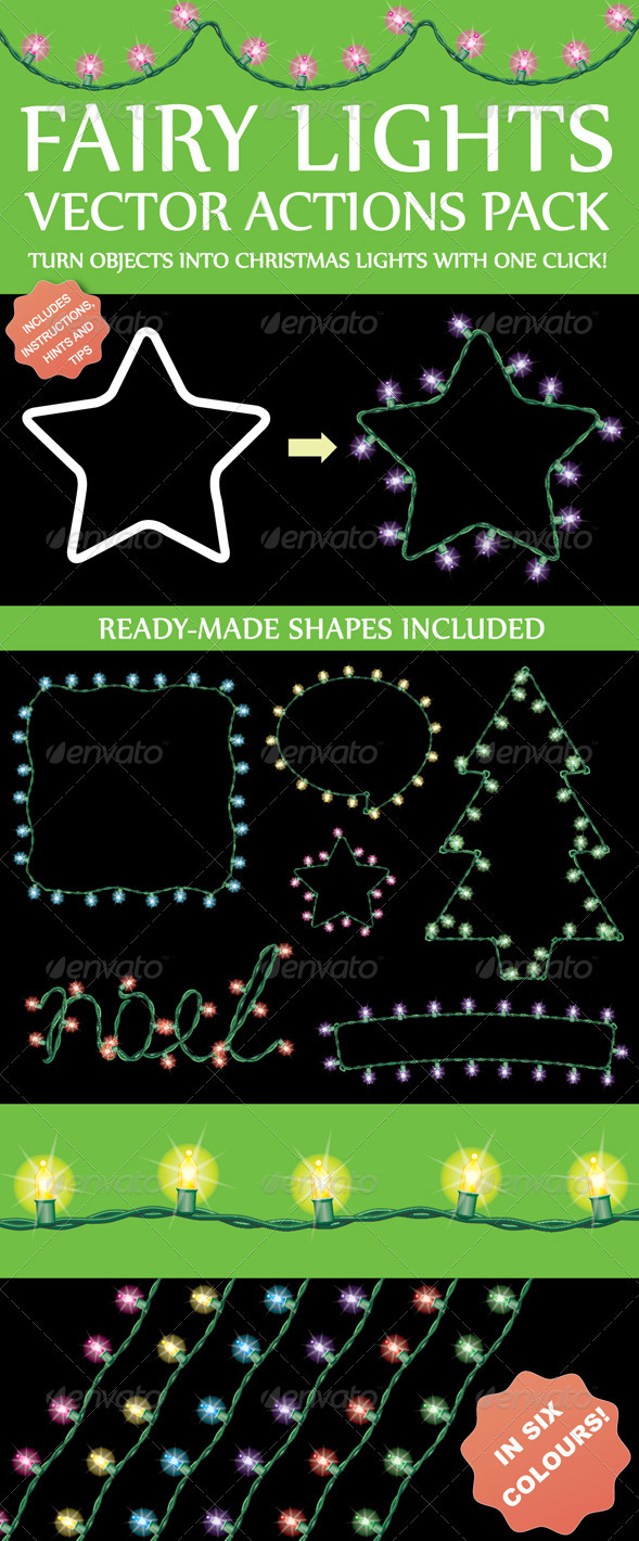 GraphicRiver Fairy Light Action Pack 2310954