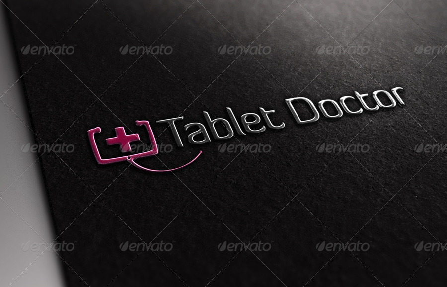 Tablet Doctor Logo Template