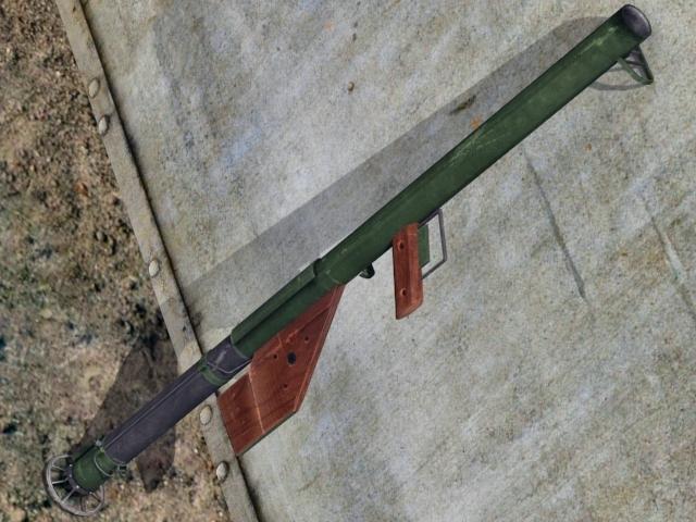 3DOcean M1A1 Bazooka 2311790