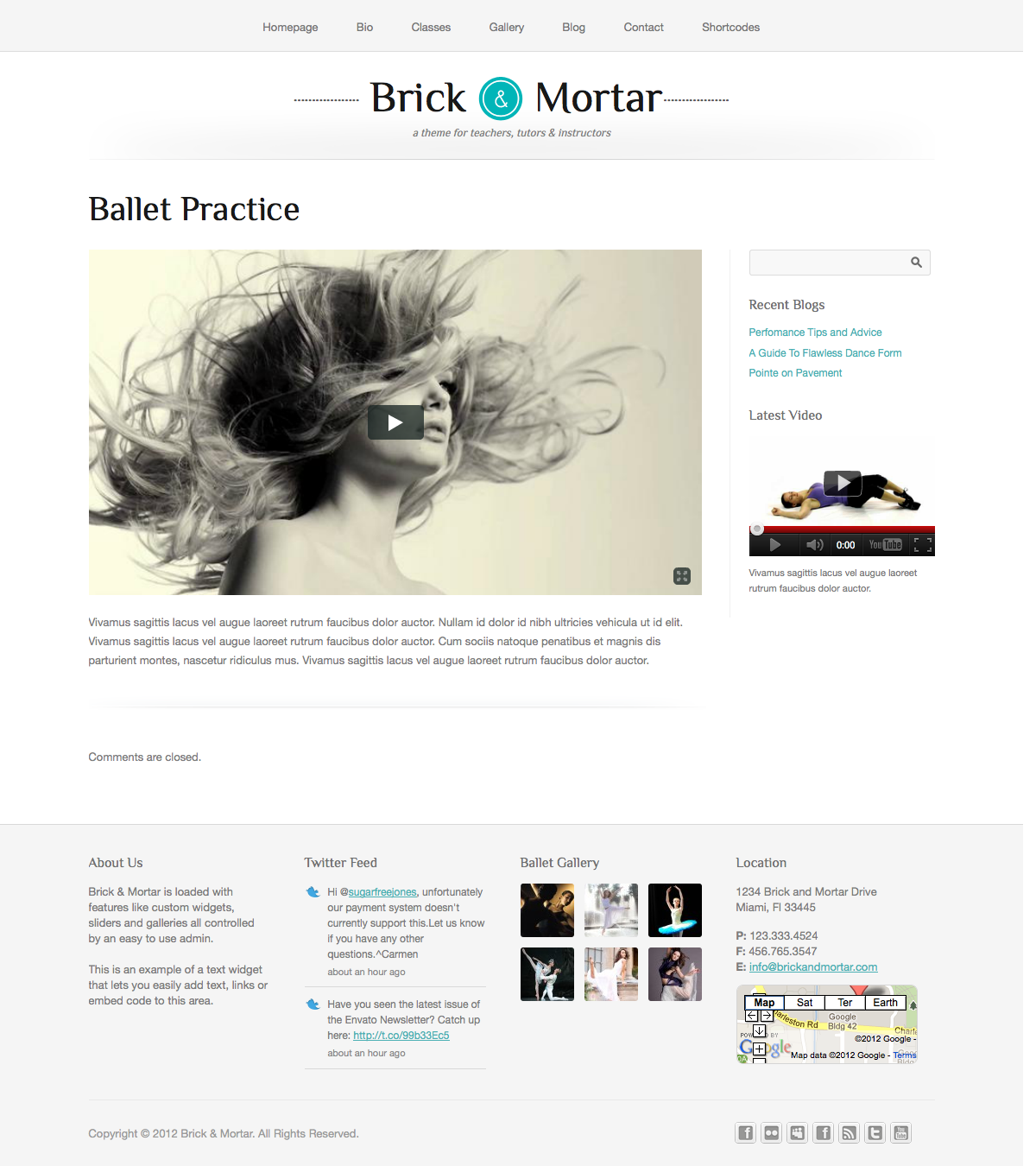 Brick & Mortar - A Personal Business Theme - Gallery Single - View for a single gallery image or video with full description.