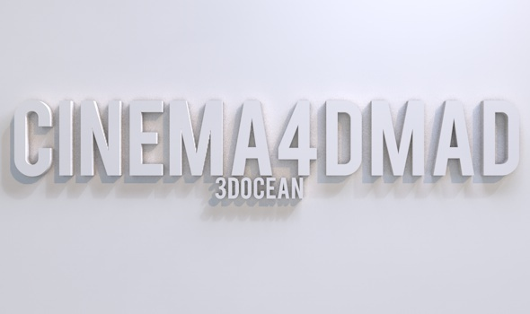 3DOcean Text project set up 3D Models -  Render Setups 2311854