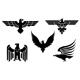 Download Vector Eagle symbols 3