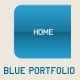 Blue Portfolio XML Template - ActiveDen Item for Sale